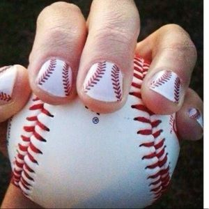 """Jamberry nail wraps in """"Curve Ball"""""""